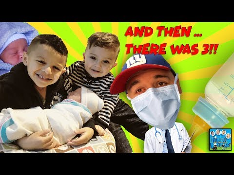 DINGLE HOPPERZ BABY HAS ARRIVED! UNCLE CRUSHERS THE DOCTOR?!   VLOG