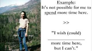 WISH and HOPE, the uses of WISH,  Common Mistakes in English Lesson 4b