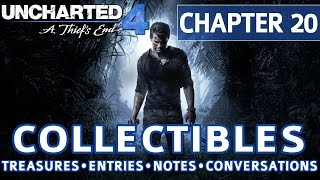 Video Uncharted 4 - Chapter 20 All Collectible Locations, Treasures, Journal Entries, Notes, Conversations MP3, 3GP, MP4, WEBM, AVI, FLV Juli 2018