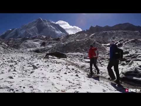 steck - www.epictv.com World-class aplinists Simone Moro and Ueli Steck are attempting to climb what they describe as a 'different' route on Mt Everest without oxyge...