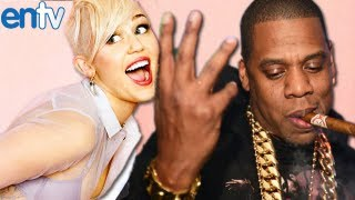 Miley Cyrus Reacts To Jay-Z Twerking Diss