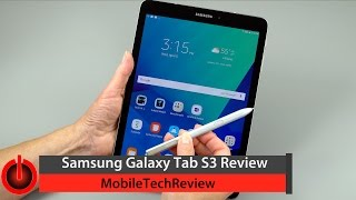 Lisa Gade reviews Samsung's 2017 Android flagship tablet, the Galaxy Tab S3 with S Pen. The tablet runs Android 7.0 Nougat with Samsung's TouchWiz UI on the ...