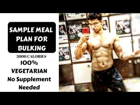 Bulking Diet for Skinny Guys | Bulking Diet India Sample Meal Plan | Hindi