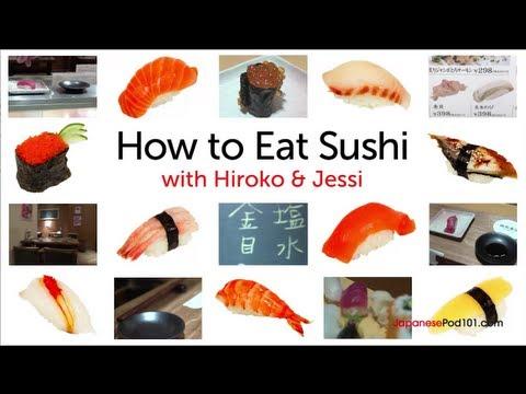 Japanische Kultur: Lernen, wie man richtig Sushi isst