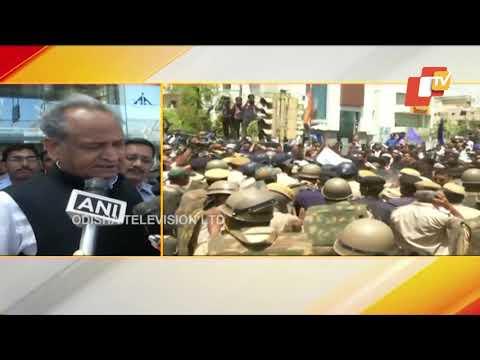 Alwar rape case,Bhim army states protest in Jaipur