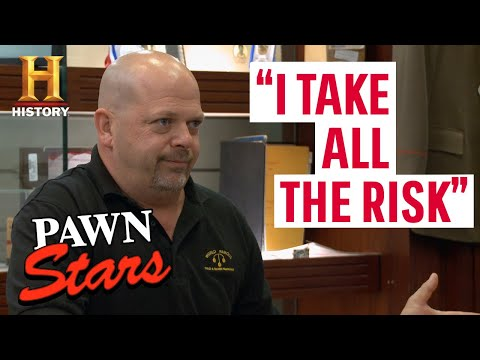 Pawn Stars: RISKING IT ALL FOR BIG MONEY (9 Risky $$$ Deals)   History