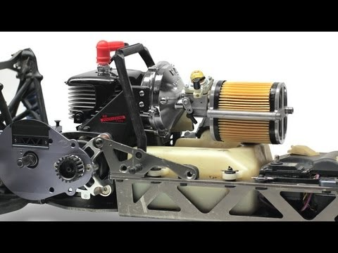 HPI - We take you step by step through the installation of our 1/5th Scale Supercharger and overdrive pulleys to the HPI Baja 5B. Buy the Supercharger here: rbinno...