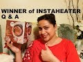Giveaway Winner Announcement || आपके सवाल मेरे जवाब || Q & A || Chit Chat || Instaheater