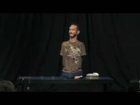 inspiring people - No arms, no legs - no worries! Nick Vujicic uses his story to inspire and inform people all around the world. Don't let this life changing message pass you b...