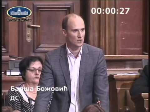Балша Божовић - посланичко питање заменику премијера и министарки саобраћаја