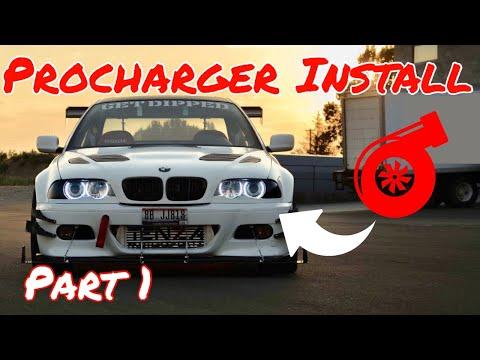 2001 E46 Active Autowerke supercharger install! *Part 1*