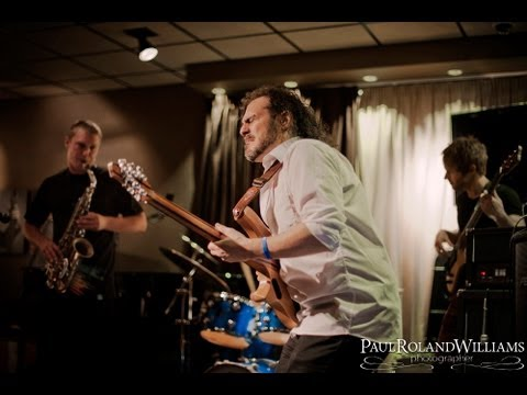 Full band Blues. LIVE Alex Hutchings Band July 2013 (Part 1) of 3