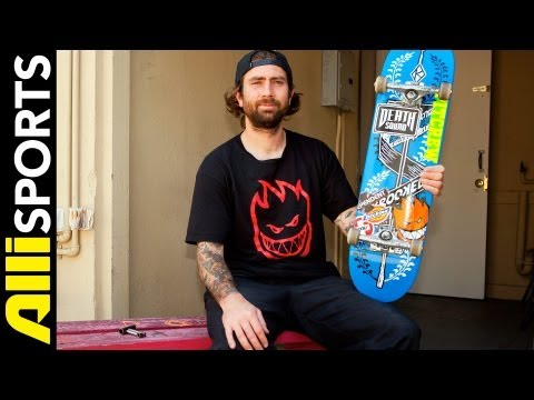 Bobby Worrests Krooked Skateboard, Independent Trucks + Spitfire Wheels Setup, Alli Sports_Legjobb vide�k: Extr�m