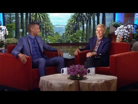 dad - The funnyman talked to Ellen about his parenting style.