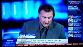 Alan Mcinallys jubilant live reaction from Stephen Mcmanus's last minute winner at Hampden against Liechtenstein on Sky Sports...
