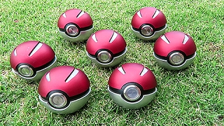 Working REAL LIFE PokeBall's by Unlisted Leaf