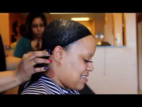 Application of quickweave with closure for a bob hairstyle- TUTORIAL
