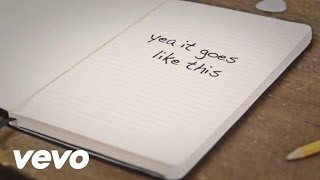 Thomas Rhett - It Goes Like This (Lyric Video) lyrics (Japanese translation). | Hey girl, you make me wanna write a song