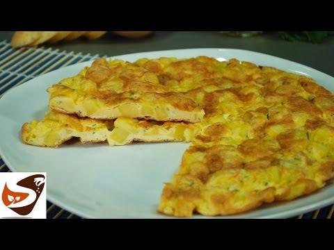 Ricetta frittata di patate, in padella e al forno - secondi piatti veloci (potato omelette recipe)