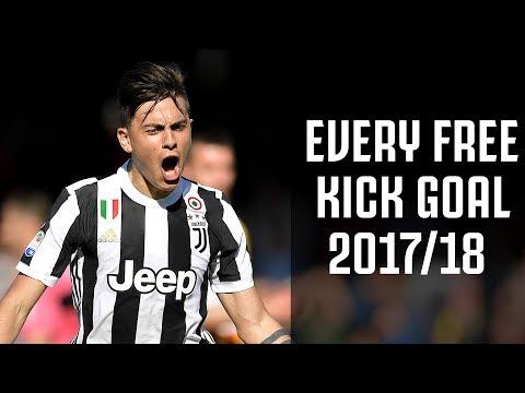 🎯🎯🎯 Every Juventus free kick goal of 2017/18! 🎯🎯🎯 (видео)