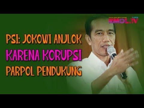 PSI: Jokowi Anjlok Karena Korupsi Parpol Pendukung