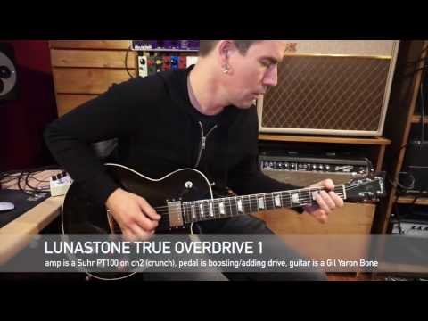 Lunastone TrueOverdrive 1, demo by Pete Thorn