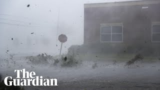 Hurricane Michael pounds Florida