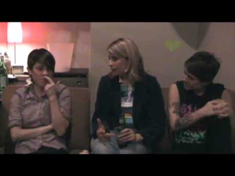 Tegan and Sara on This Just Out with Liz Feldman (02.09.2009) P1