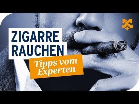 Zigarre rauchen – So geht's richtig: Tipps zum Genießen von Zigarren
