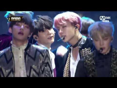 Boy Meets Evil +  Blood Sweat & Tears +  Fire -  BTS @ [MAMA 2016]