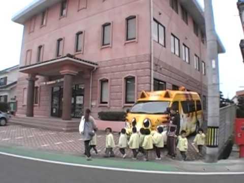 口之津図書館へ南島原市加津佐町の若木保育園うさぎ組