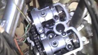 4. 2004 RMZ 250 Valve Adjustment Part 1