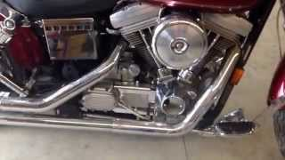 6. Walk around and idle of 1996 Harley Davidson FXD.