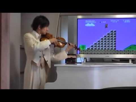 小提琴師完美配樂玩超級瑪莉,真的很給力!