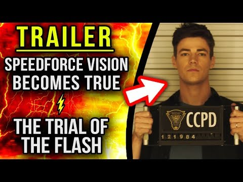 The Trial of The Flash is Coming! - The Flash 4x10 Trailer Breakdown
