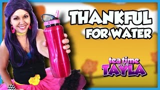 Thanksgiving for kids, Water