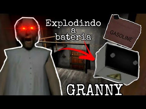 TENTEI EXPLODIR A BATERIA E ME FERREI !!! GRANNY 1.1.5 (Jogo estilo Evil Nun)