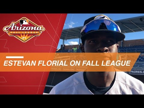 Video: Florial on improving in the Arizona Fall League
