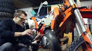 10. Gearbox Oil Change on KTM EXC 300