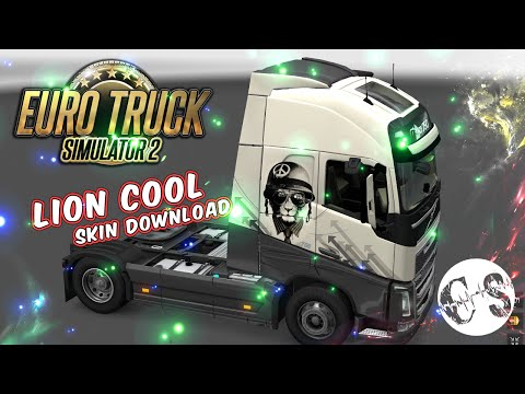 Volvo FH 2012 Lion Cool Skin + Trailer Standalone