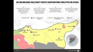 خريطة تنشرها وكالة تركية ثم تحذفها فجأة عن القوات الأميركية بسوريا..لماذا أغضبت واشنطن؟