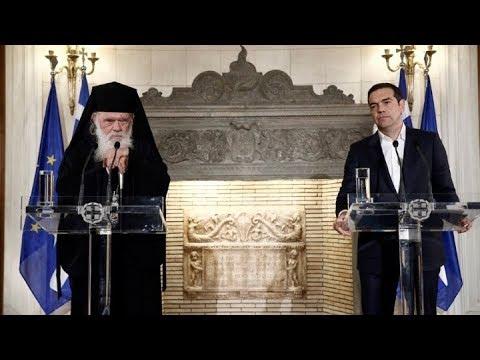 Αλ. Τσίπρας: Ιστορική συμφωνία εξορθολογισμού των σχέσεων εκκλησίας-πολιτείας
