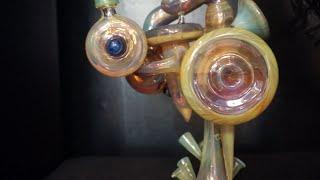 Heady Glass - Alex Stebbe Glass Dab Rig by Pot TV