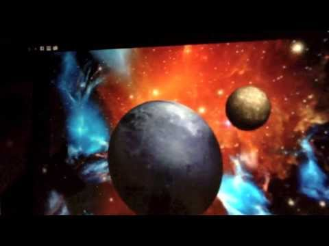 Video of 3D Space Live Wallpaper HD