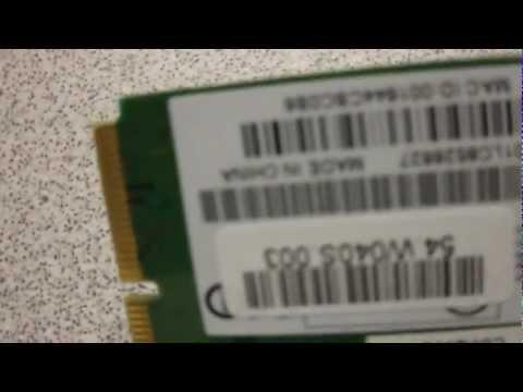 Realtek RTL8187B 802.11b/g Mini PCIe Wireless Cards