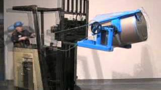 Morse Forklift-Karriers - Drum Handlers to Lift and Pour Drum with Your Forklift