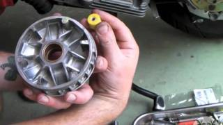 10. Vespa Variator Roller Change & Bendix gear cleaning (How to)