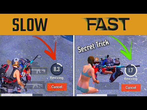 😳 How To Revive Faster in PUBG MOBILE | PUBG Mobile Latest Trick 2020