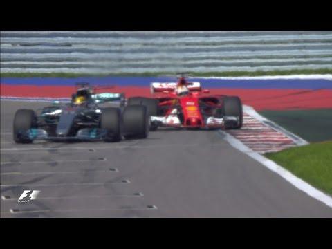 2017 Russian Grand Prix: Qualifying Highlights (видео)