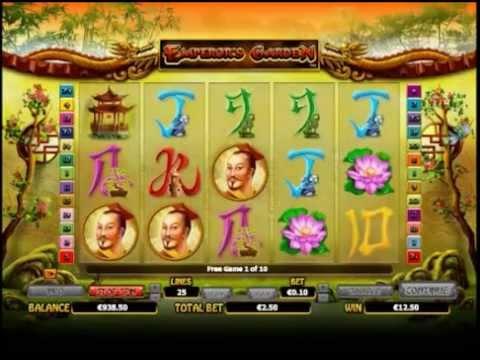 Emperor's Garden Slots 10 Free Spins